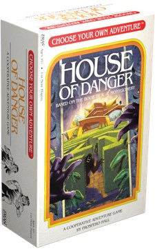 House of Danger, Card game, English version