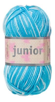 Junior 50g Turkoosi, valkoinen (67019)