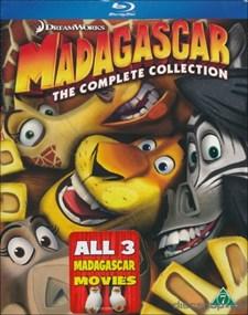Madagaskar 1-3 Box (Blu-ray)