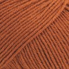 Drops Cotton Merino Uni Colour Lanka Villasekoitus 50g Rust 25