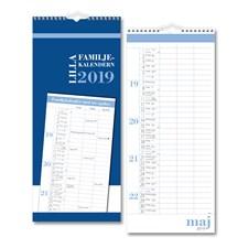 Väggkalender 2019 Burde Lilla Familjekalendern