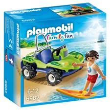 Surfare med strandbil, Playmobil Family Fun (6982)