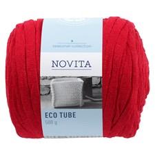 Novita Eco Tube, rød (549)