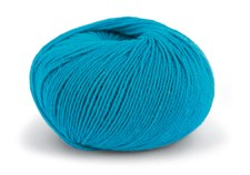 Knit At Home Superfine Baby Merino Ullgarn 50 g Turkos 225