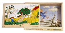 Astrid Lindgren 4x träpussel