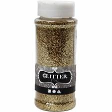 Glitter, 110 g, gull