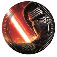 Star Wars Papptallrikar, 8 st