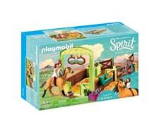 Hästbox med Lucky och Spirit, Playmobil Spirit (9478)