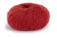 Dale Garn Erle Silk Mohair Mix 50 g Röd 4033