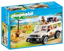 Safari-jeep med vinsch, Playmobil (6798)