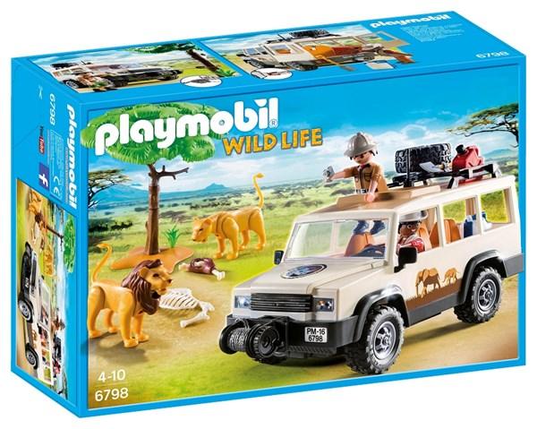 Safari-jeep med vinsch, Playmobil (6798)