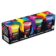 Fingerfärger 4-pack