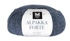 Dale Garn Alpakka Forte Garn Alpakka 50 g Denimblå melerad 707