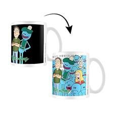 Rick And Morty Lämpöherkkä Muki Jerry & Mr Meeseeks