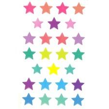 Klistermärken 3D Stjärnor 1 Ark