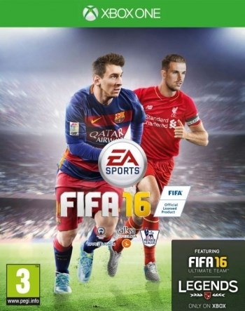FIFA 16  Electronic Arts - xbox one
