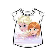 T-shirt, Vit , Frozen