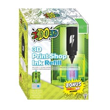Refill Grön, 3D Print Shop, IDO3D