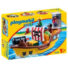 Piratskepp, Playmobil 1.2.3 (9118)