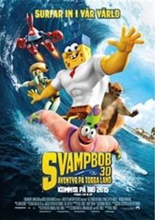 SvampBob Fyrkant - Äventyr på torra land (Blu-ray)