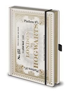 Harry Potter Anteckningsbok Hogwarts Express Biljett