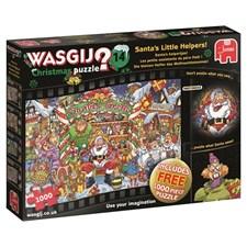 Pussel 1000 bitar, Santas little helpers, Wasgij Christmas
