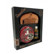 Dapper Dan Hairy Man Gift Set Matt Clay Pomade