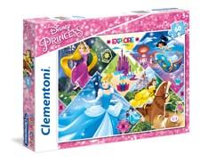 Pussel Disney Princess, 60 bitar, Clementoni