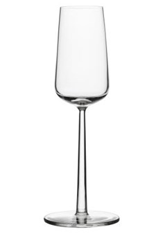 Champagneglass, Essence, 2-pack, 21 cl, Klar, Iittala
