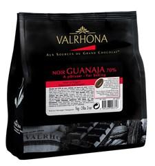 Valrhona Bakchoklad Feves Guanaja 70% 1 kg