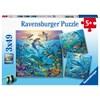 Ocean Life 3x49p Ravensburger