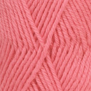 Drops Karisma Uni Colour Garn Ullgarn 50g Coral 78