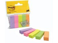 Index POST-IT 670-5 5 farger 15 x 50 mm