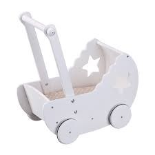 Dukkevogn, Star, Hvit, Kids Concept