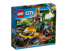 Djungel uppdrag med halvbandvagn, LEGO City Jungle Explorers (60159)