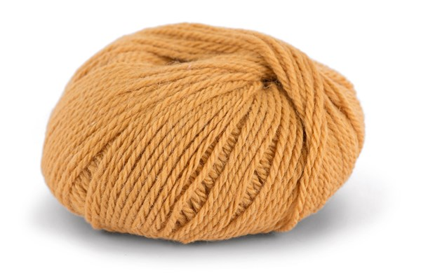 Knit At Home Chunky Alpaca Wool Ullmix 50 g Varm Gul 615