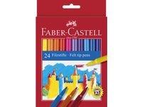Faber-Castell Fibertusjer Barn 24 pakning