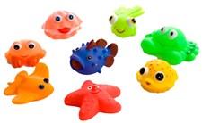 8 Koralldjur för badet, Rätt Start