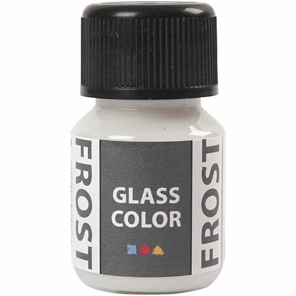 Glas Color Frost huurremaali, 35 ml, valkoinen