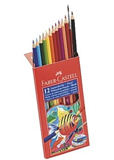 Akvarellpennor 12 Färger