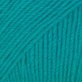 Drops Fabel Uni Colour Garn Ullmix 50g Turkos (105)