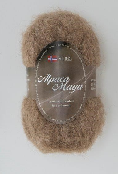 Viking of Norway Alpaca Maya 50 gr Beige 707