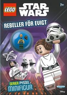 Pysselbok med byggsats LEGO Star Wars, Egmont Kärnan
