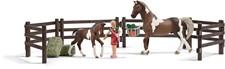 Matningset Clydesdale hästar, Schleich