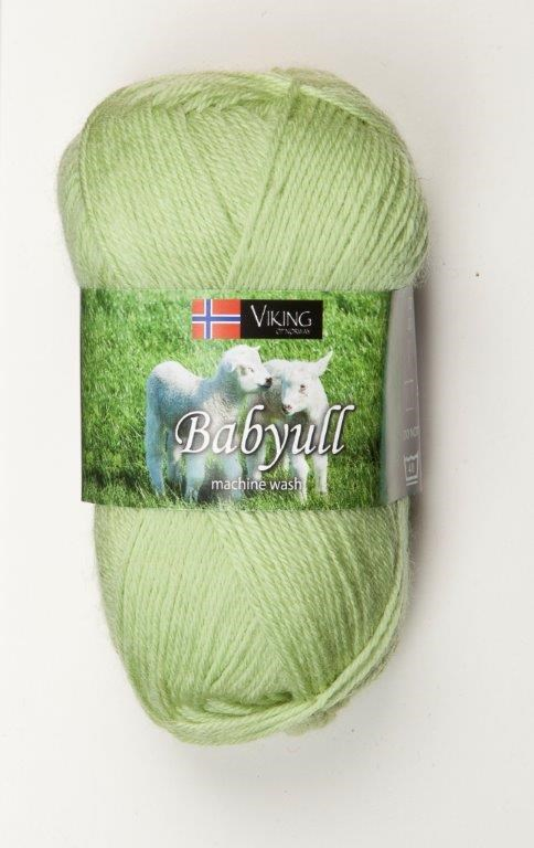 Viking of Norway Baby Ull 50 gr Lys grønn 331