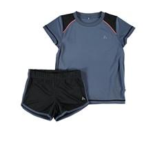 Träningsset Tröja + Shorts, Vintage Indigo, Name it