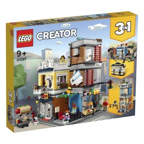 Djuraffär och kafé, LEGO Creator (31097)