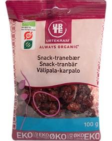 Urtekram Tranbär Snacks 100 g Eko