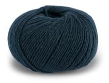Dale Garn Pure Eco Wool Ekologisk Ull Alpacka 50 g Marinblå 1225