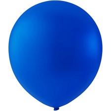 Ballonger, mørk blå, dia. 23 cm, runde, 10stk.